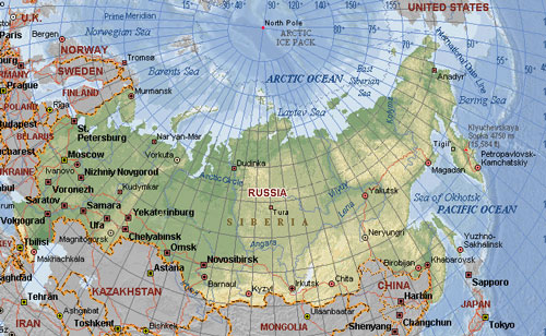 Asia 4 Russia your guide to